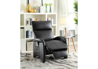 Black Motion Recliner