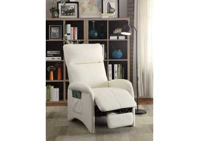 White Motion Recliner