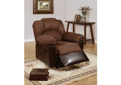 Chocolate Motion Recliner