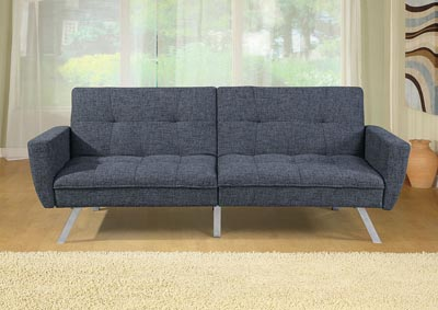 Image for Ash Black Adjustable Sofa