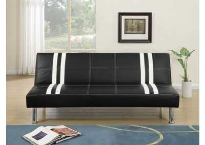 Black/White Adjustable Sofa