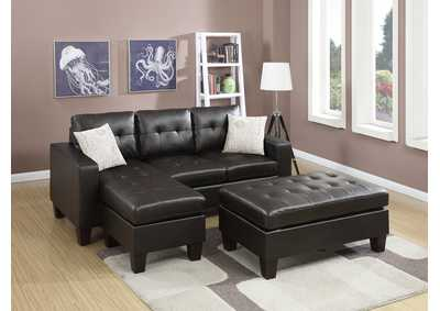 Espresso All-In-One Sectional
