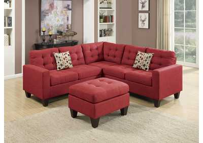 Carmine 4 PC Modular Sectional