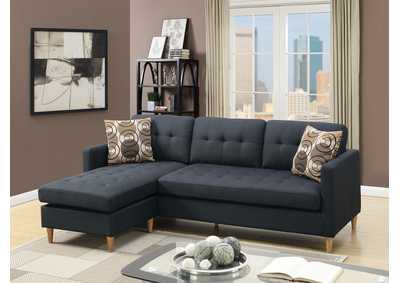 Black Sectional Set