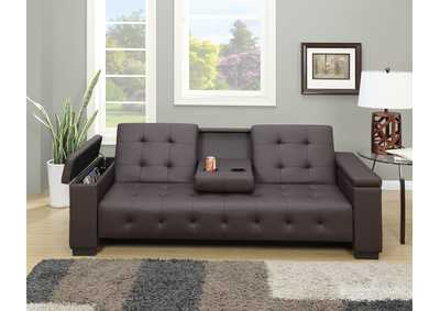 Image for Espresso Adjustable Sofa