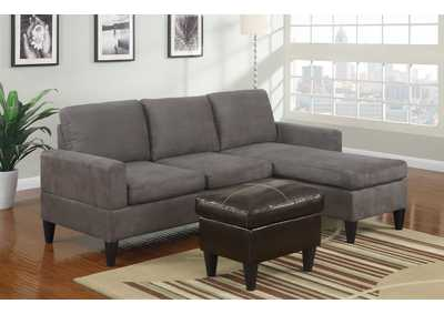 Gray All In One Sectional