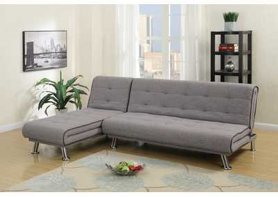 Taupe Adjustable Sectional