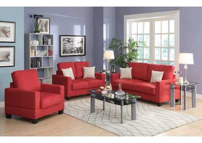 Coral 3 Pcs Sofa Set