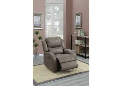 Taiyus Coffee Power Recliner,Poundex