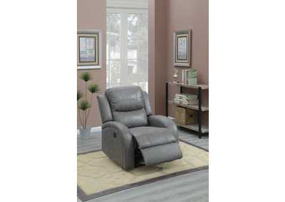 Taiyus Grey Power Recliner