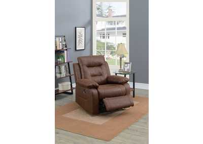 Taiyus Dark Brown Power Recliner