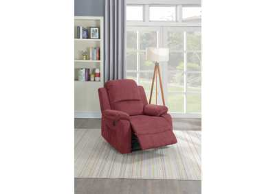 Taiyus Paprika Red Velvet Power Recliner