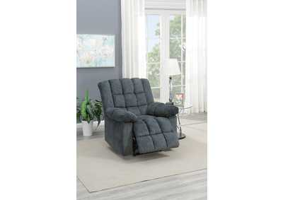 Taiyus Grey Chenille Power Recliner