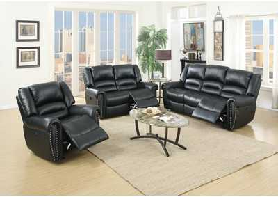 Image for Zoyart Black Power Recliner