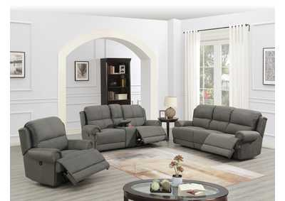 Image for Hainin Slate Blue Power Recliner