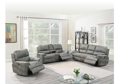 Image for Hainin Slate Grey Power Recliner