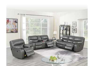 Image for Zoyart Grey Power Recliner