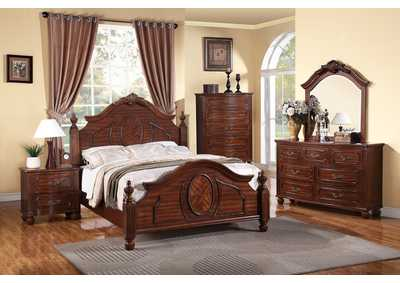 Natural Cherry California King Bed