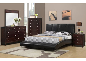 Dark Espresso Queen Bed