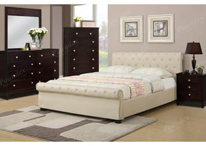 Hazelnut Queen Bed