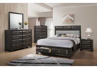 Image for Charcoal California King Bed