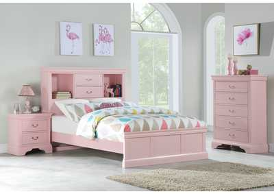 Image for Light Pink Nightstand