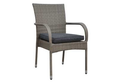 Grey Arm Chair