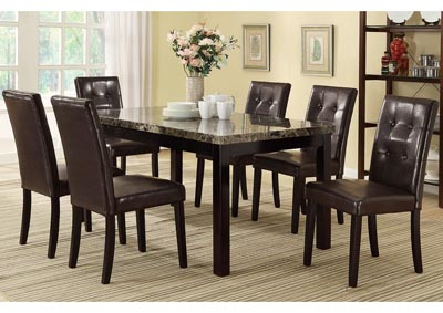 Image for Dark Brown Dining Chair (Set of 2)