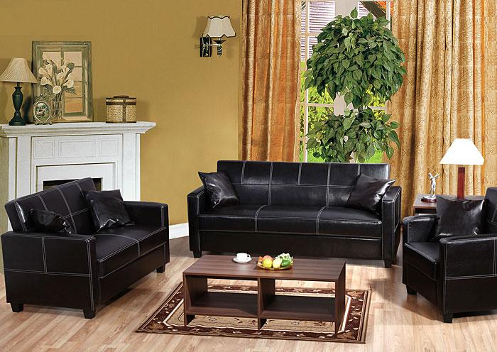 Moe Furniture Novel 102 Sofa Loveseat