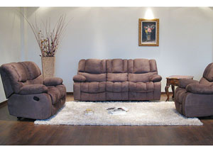 Sykon Reclining Sofa, Loveseat & Chair