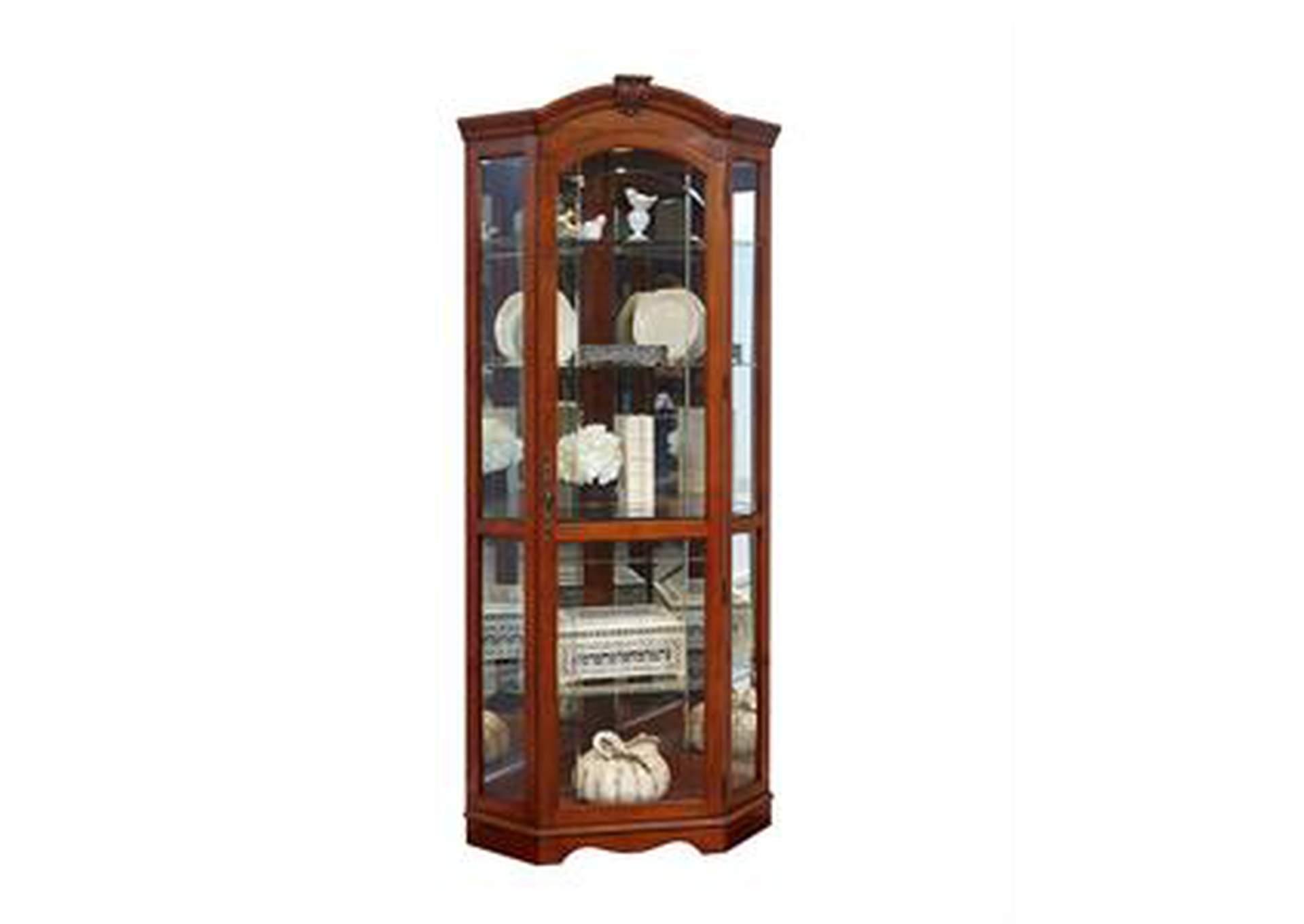 Orleans Furniture Corner Curio