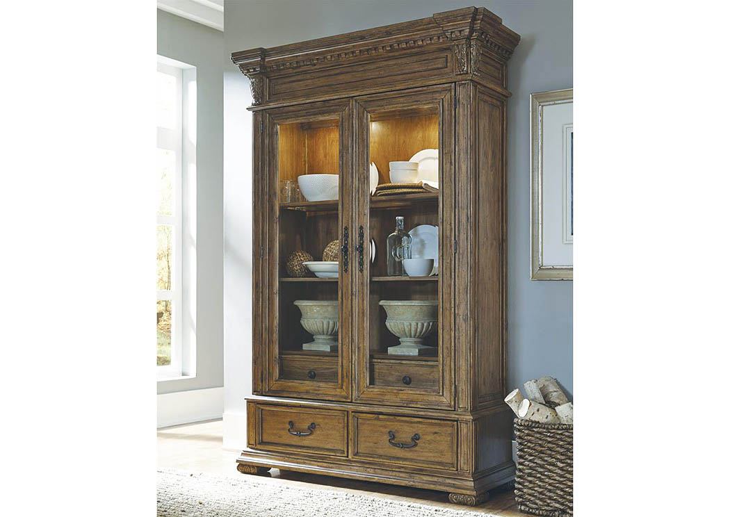 Stratton China Cabinet,Pulaski Furniture