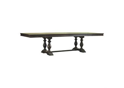 Accentrics Home Montserrat Dining Table Complete