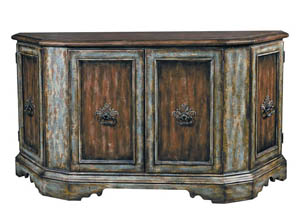 Image for Monaco Weathered Brown Credenza
