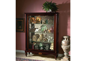 Brown Mantel Curio