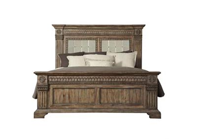 Arabella Queen Panel Bed