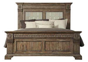 Arabella California King Panel Bed