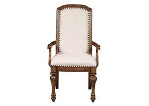 Reddington White Arm Chair