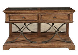 Reddington Brown Iron Sideboard