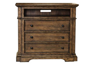 Reddington Brown Media Chest