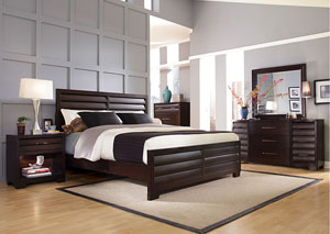 Image for Tangerine Queen Bed