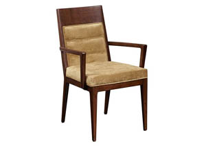 Modern Harmony Upholstered Arm Chair