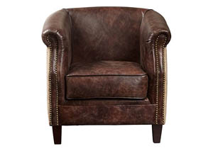 Rhyme and Home Brown Chair