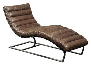 Rhyme and Home Brown Chaise