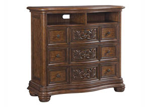 Cheswick Brown Media Chest