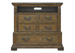 Stratton Oak Media Chest