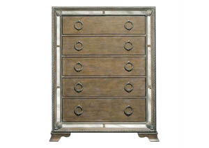 Karissa Weathered Oak Drawer Chest