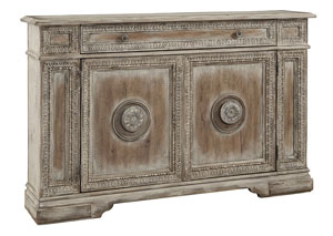 Weathered Brown Credenza