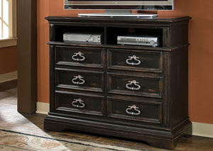 Brookfield Brown Media Chest