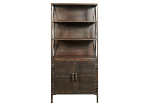 Copper Bookcase